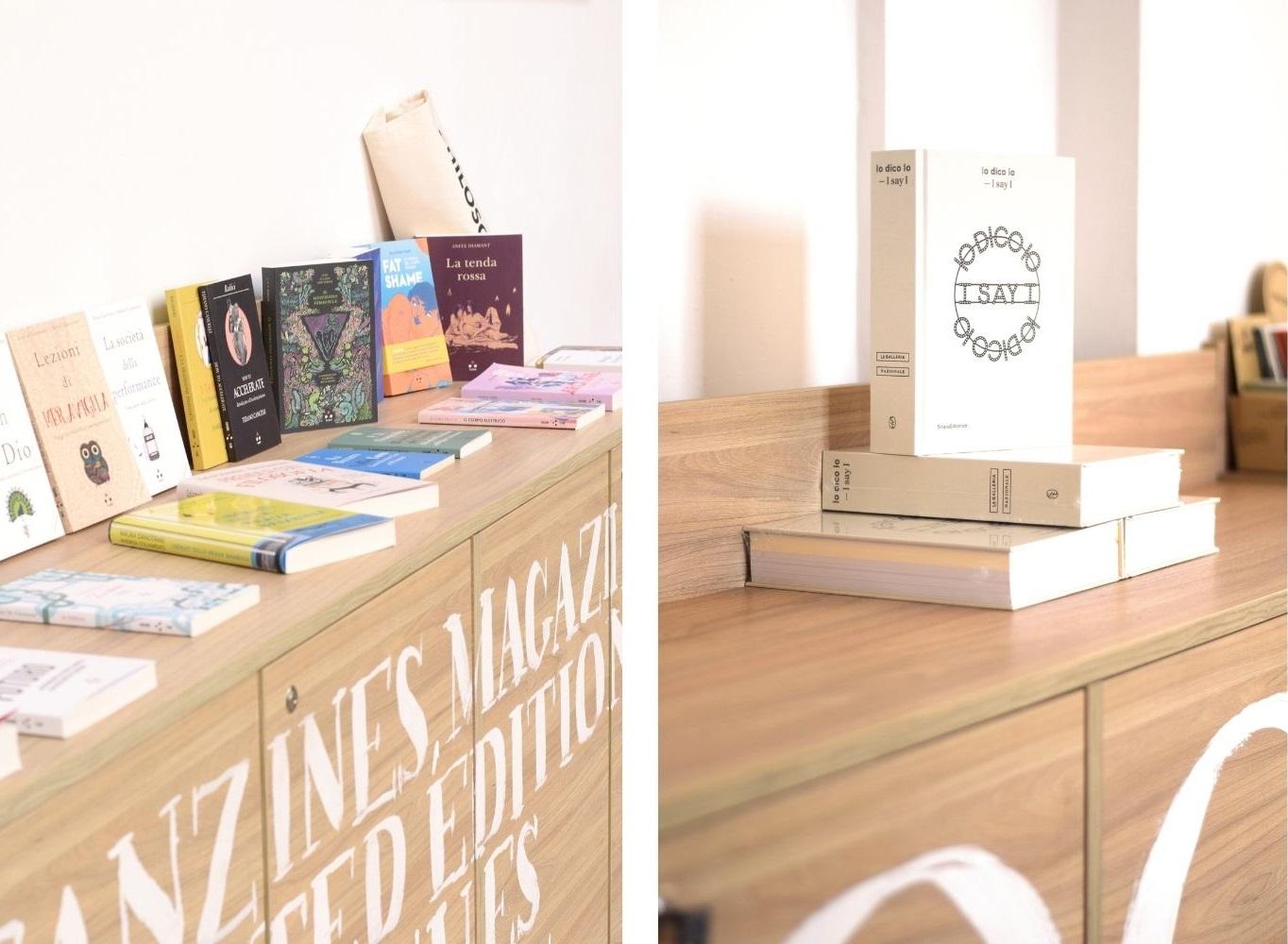Scatti del bookshop Aleph di Roma