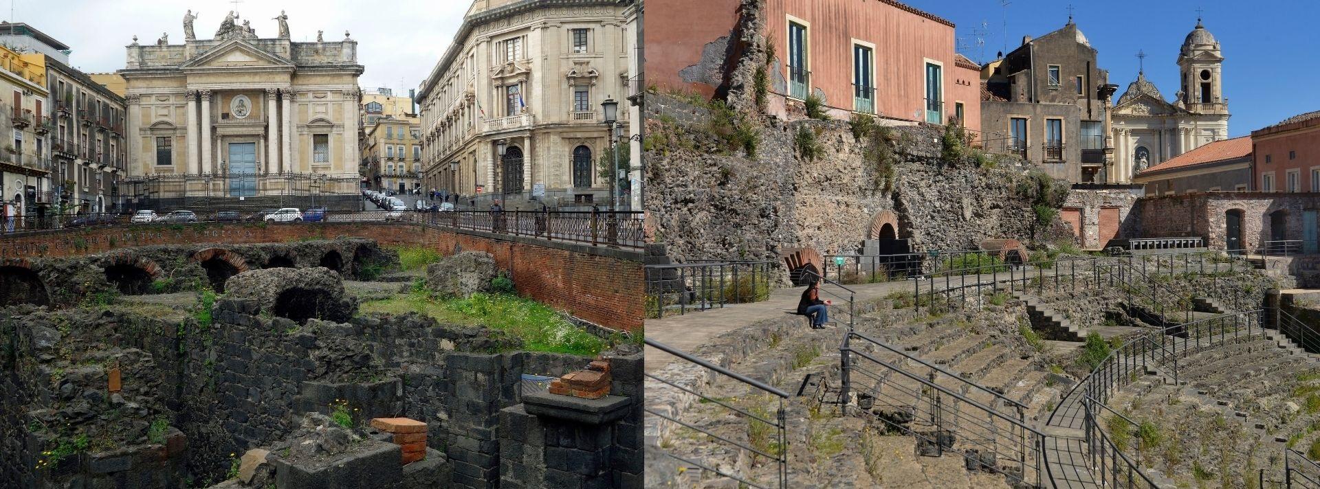 Teatro e anfiteatro romano di Catania