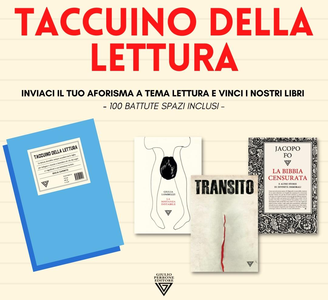 Campagna estiva della casa editrice Giulio Perrone Editore per il 2021