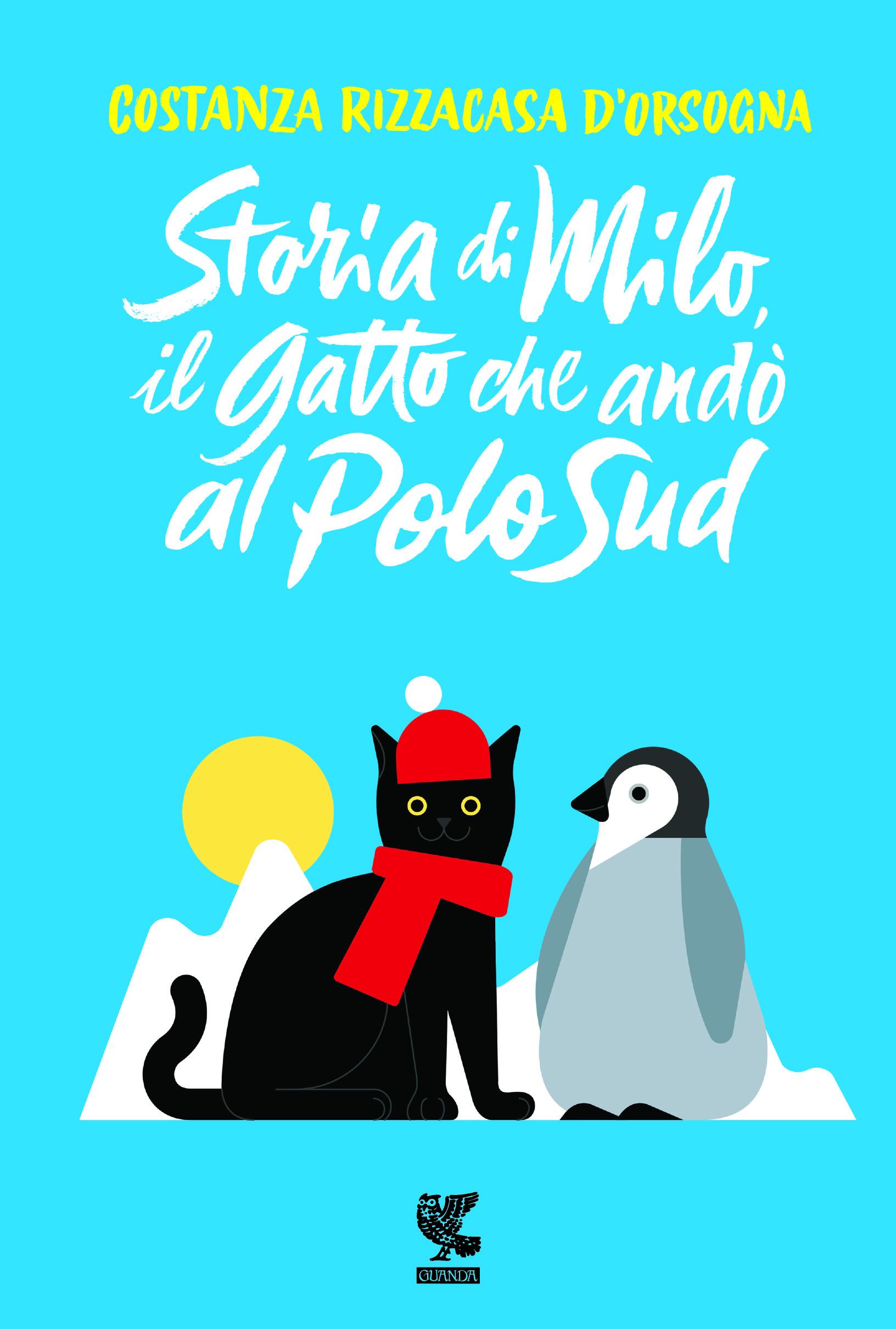 Copertina del libro Storia di Milo il gatto che andò al Polo Sud