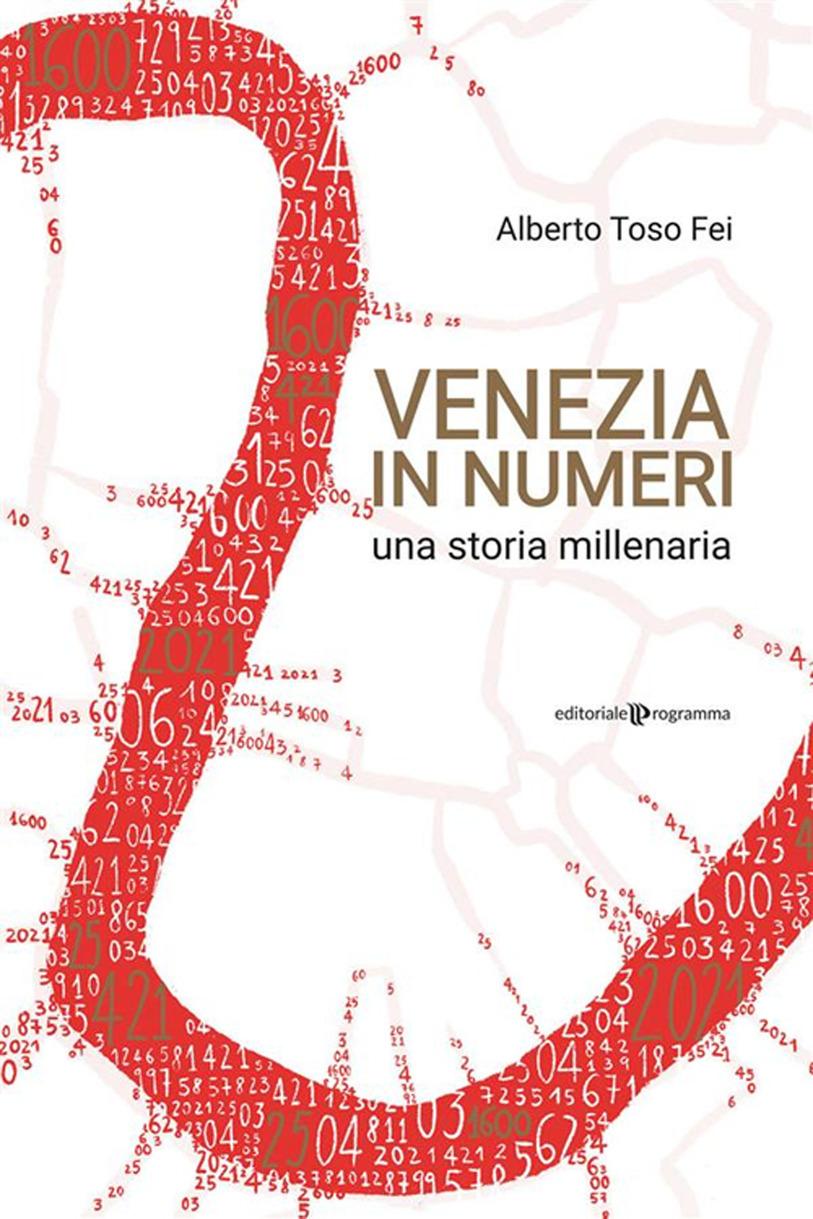 copertina del libro Venezia in numeri