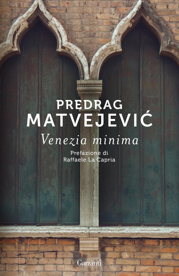 la copertina del libro Venezia minima