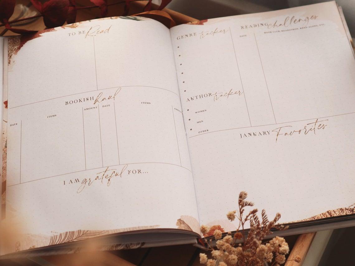 pagine di un diario delle letture elegante