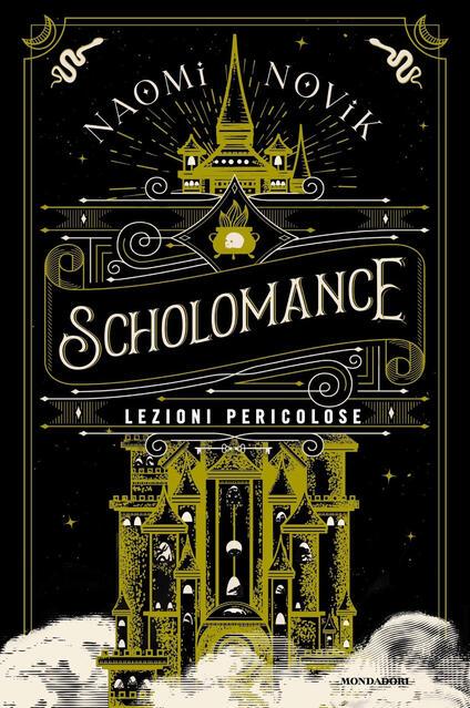 Copertina del libro Scholomance