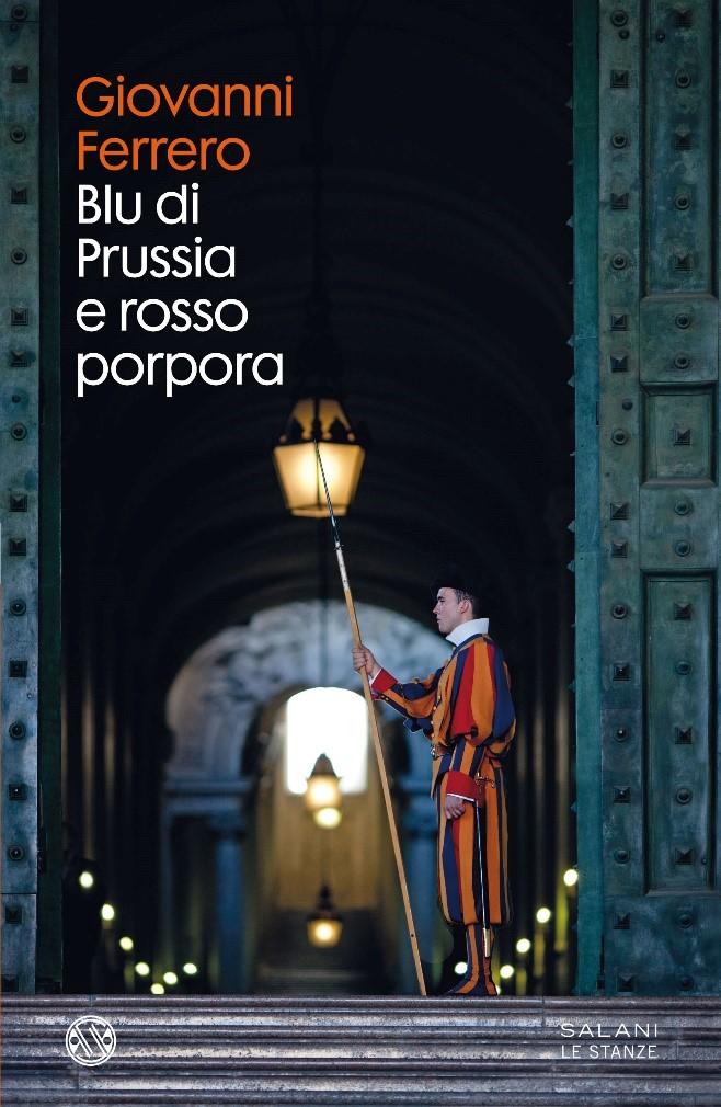 Copertina del libro Blu di Prussia e rosso porpora