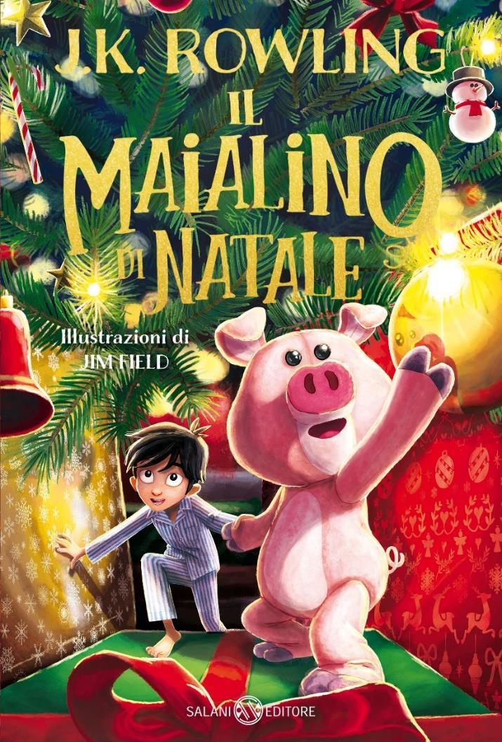 Copertina del libro Il maialino di Natale