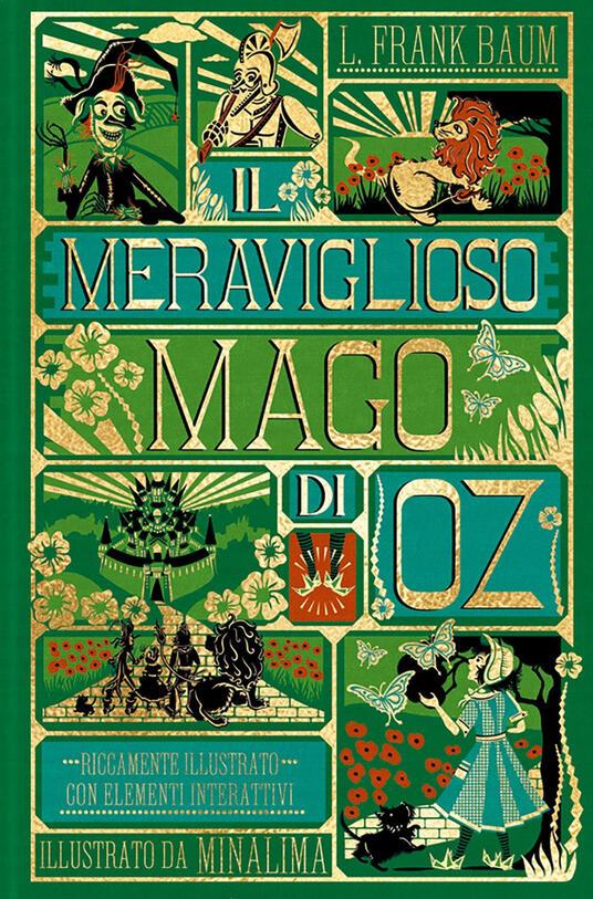 Copertina del libro Il meraviglioso mago di Oz
