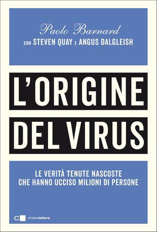 Copertina del saggio L'origine del virus