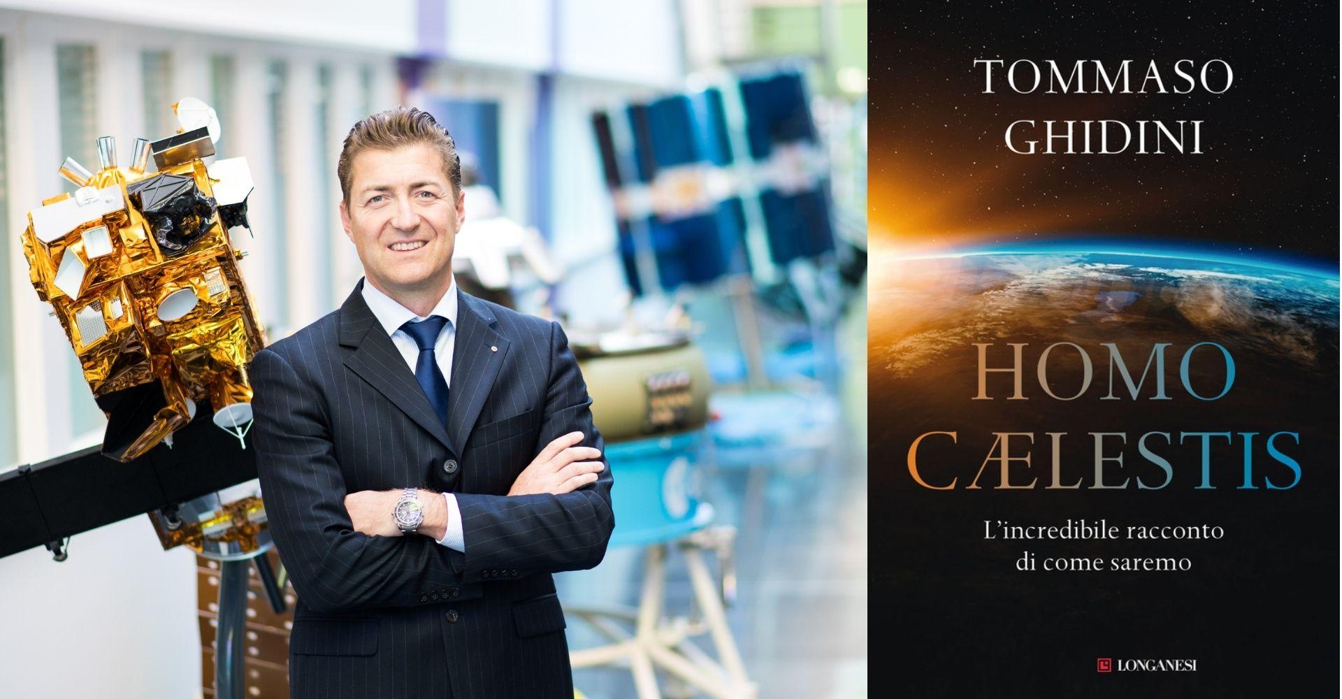 """""""Homo Caelestis"""": Tommaso Ghidini (ESA) racconta la storia e il futuro dell'uomo nello spazio"""
