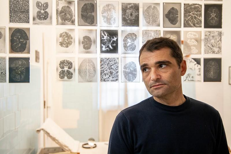 Lo scrittore Daniele Mencarelli