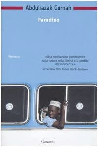 Copertina del libro Paradiso di Abdulrazak Gurnah, Premio Nobel per la Letteratura 2021